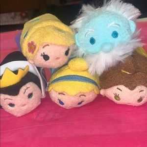 Other - 5 Tsum Tsums from DISNEYLAND*Park Exclusives* New